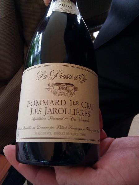2006 La Pousse d'Or, Pommard 1er Cru, Les Jarollieres
