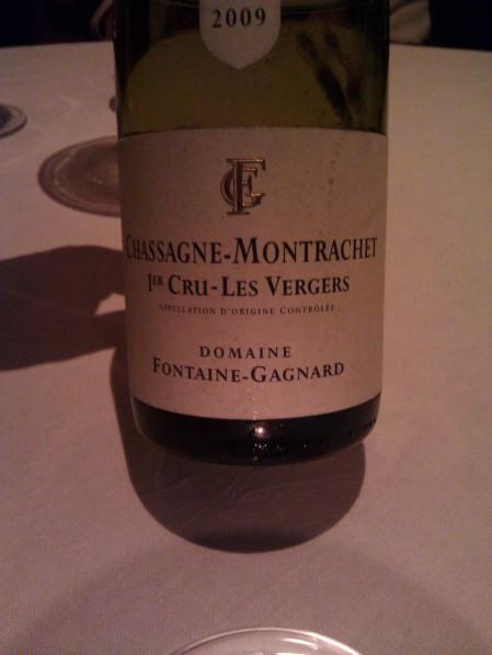 2009 Fontaine-Gagnard 1er Cru Les Vergers, Chassagne-Montrachet