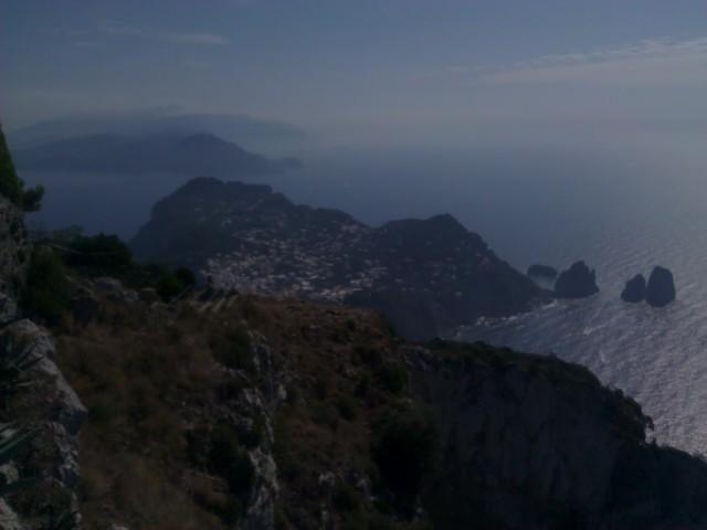 View from Ana Capri