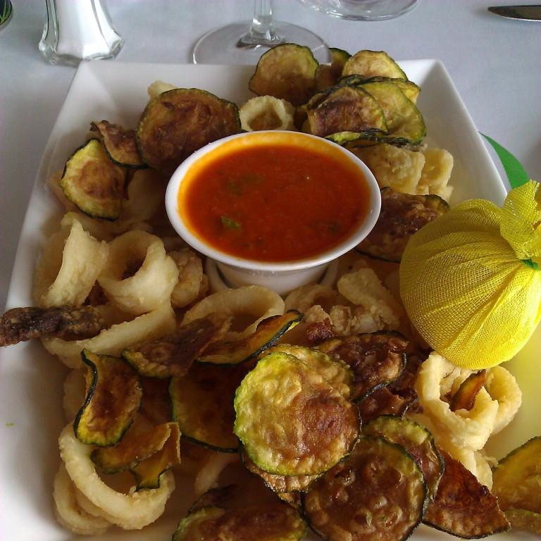 Calamari & zucchini