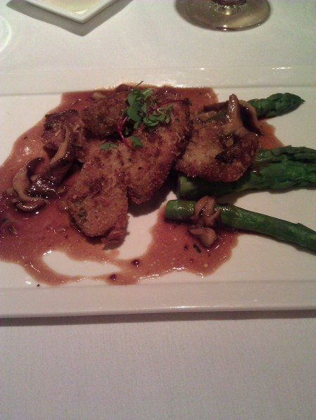 Crispy Veal Sweetbreads with Asparagus