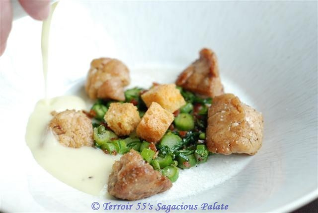 Sweetbreads with Veloute
