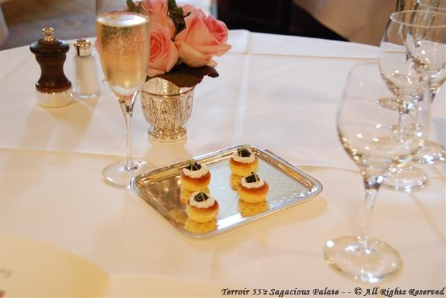 Amuse Bouche & Champagne