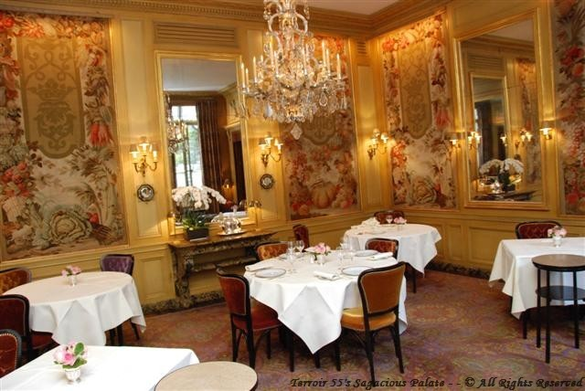 L'Ambroisie - Second dining chamber