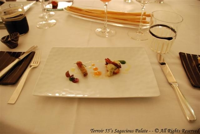 Amuse Bouche - Assorted Seafood