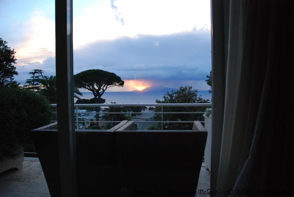 Balcony View - Sunset