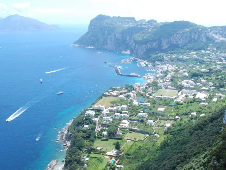 View from Anacapri - Caesar Augustus