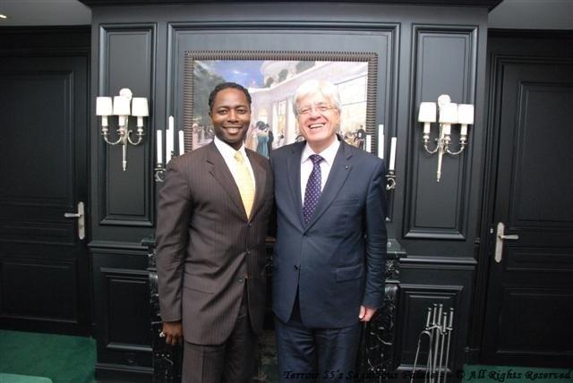 With Monsieur Jean-Jacques CHAVEAU