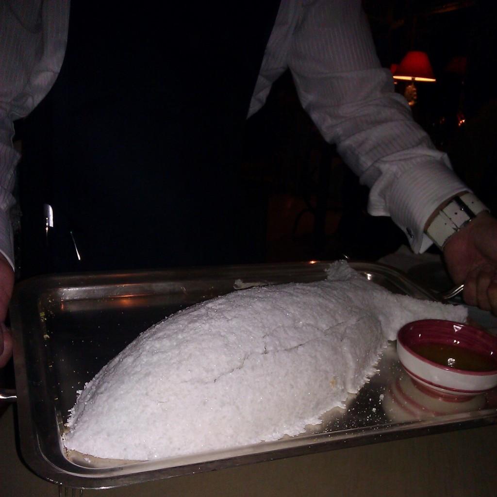 Salt Encrusted Branzino