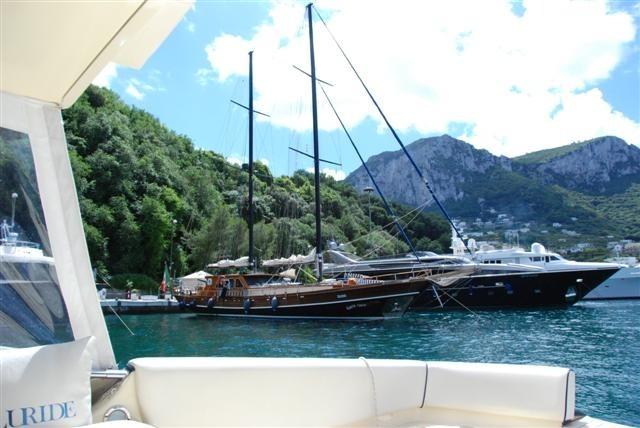 Entering The Bay of Capri