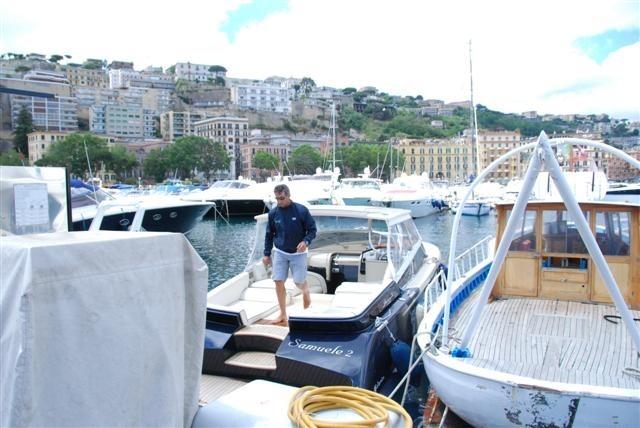 The speedboat & Captain
