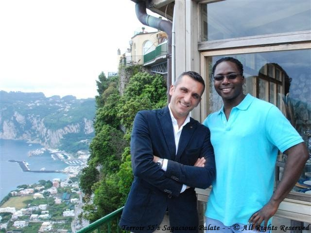 """Alessandro - Restaurant Manager and """"Tour Guide"""" for the day."""