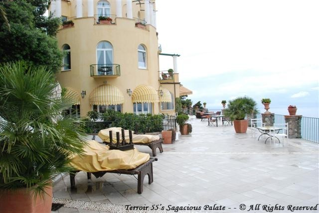 Caesar Augustus - The Bar Terrace