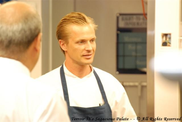 In the kitchen with Chef Esko