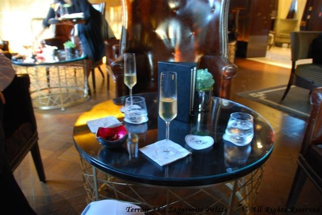 Bubbly in The Rye Bar
