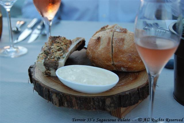 Bone Marrow, Butter, Bread & Champagne