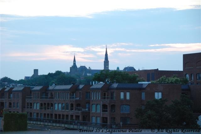 Sunset over Georgetown - Capella Rooftop
