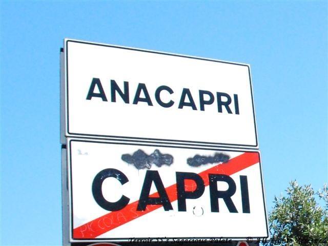 Leaving Capri for Anacarpri