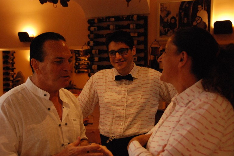 Tony, Nicolo and Stefania