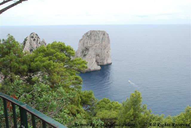 View of Faraglioni