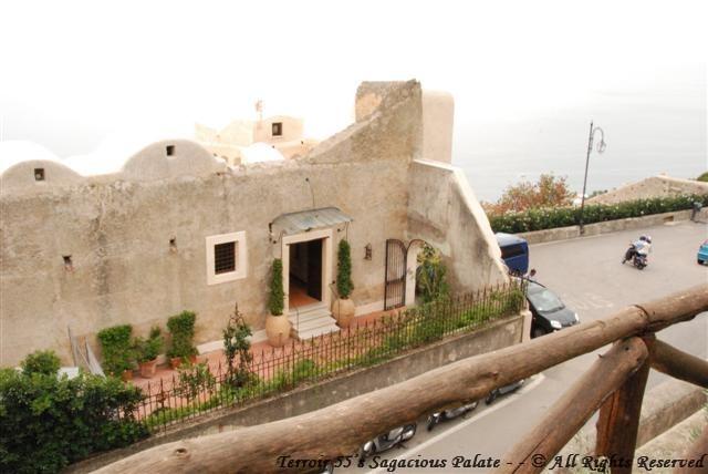 View of Monastero Santa Rosa from the garden