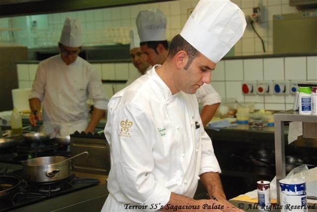 Chef Eduardo in La Cucina