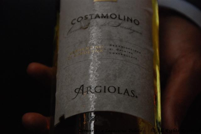 "2012 Vermention di Sardegna ""Costamolino"" Argiolas"