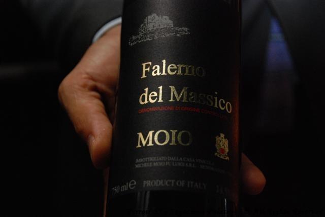 """2012 Falerno del Massico """"Primitivo"""" Moio"""
