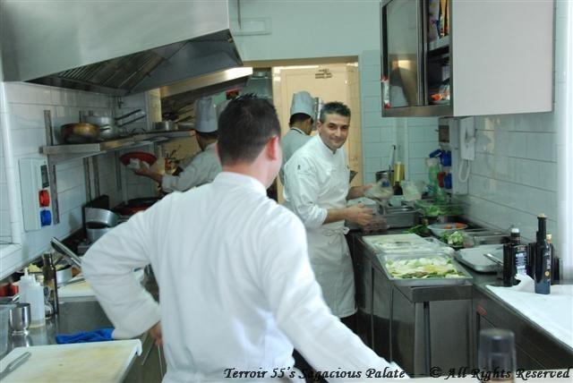 La Cucina as you enter