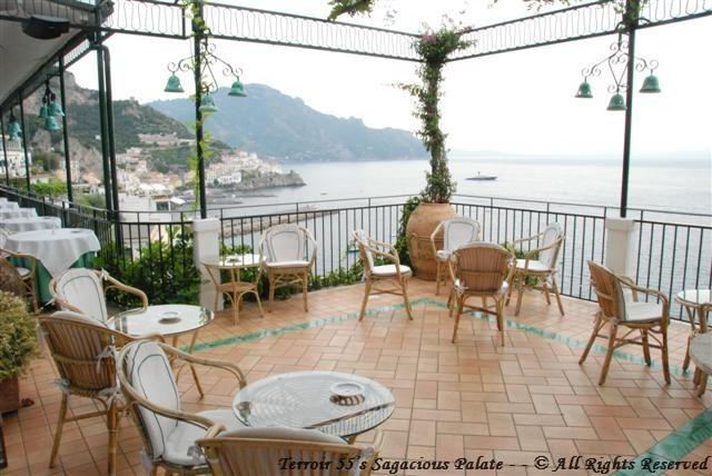 Santa Caterina - The Terrace