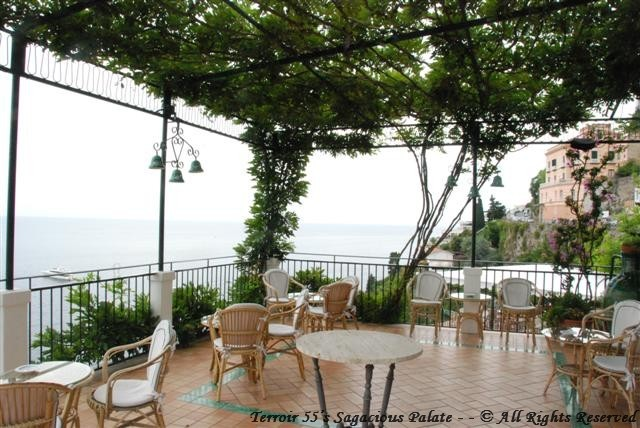 Santa Caterina - The Terrace facing Positano