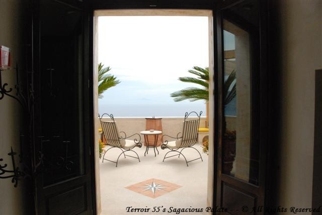 """Entrance to """"The Terrace"""""""
