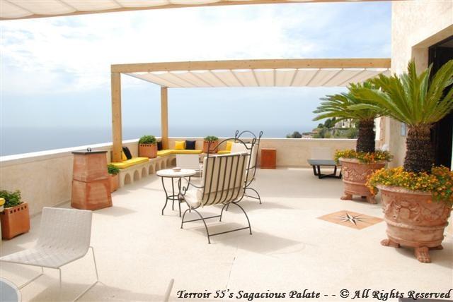 """""""The Terrace"""" facing Positano"""