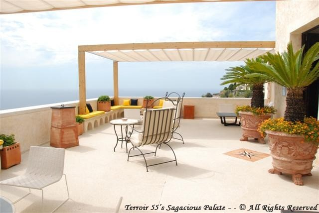 """The Terrace"" facing Positano"