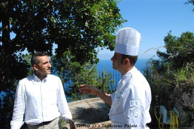 Alessandro & Chef Eduardo