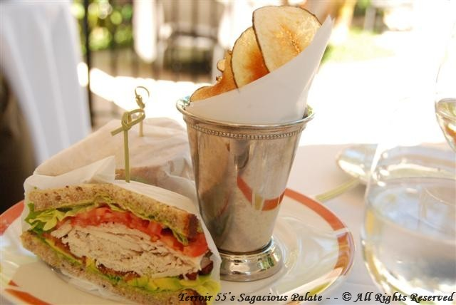 Café Boulud - Chicken Sandwich