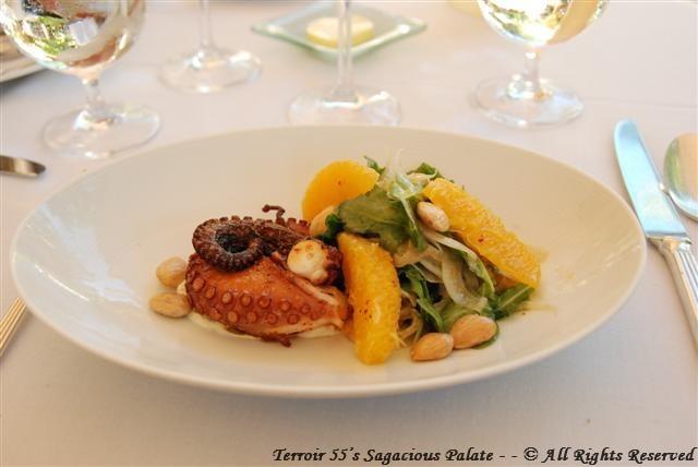 Café Boulud - Grilled Octopus Salad