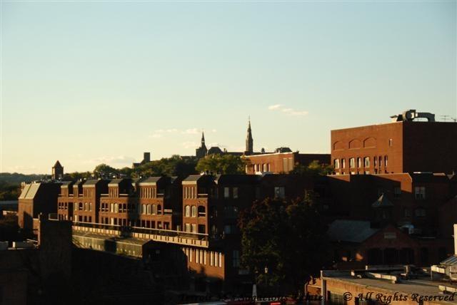 Georgetown Rooftop view