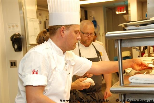 Chef Hans Boren and Chef Björn Persson