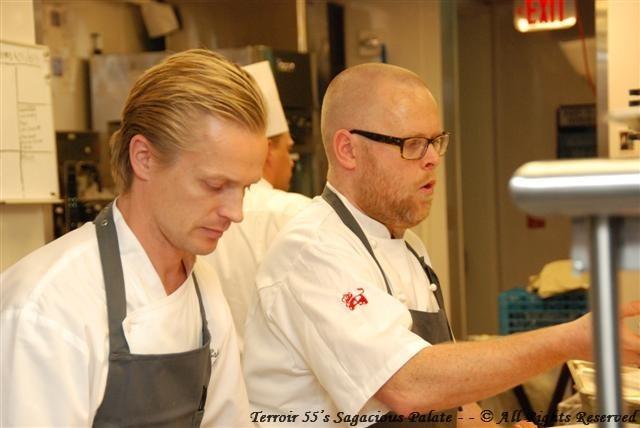 Chef Jakob Esko, Chef Hans Boren and Chef Björn Persson