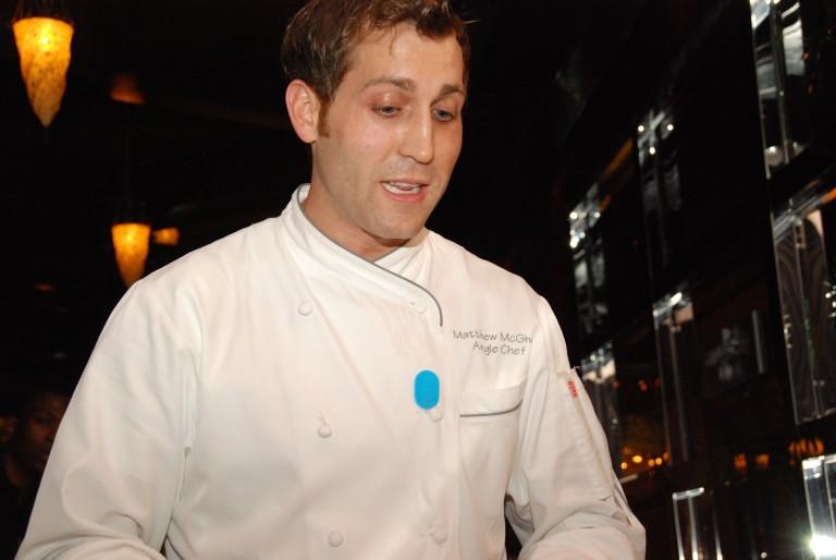 Chef Mattie Welcoming Us to Angle