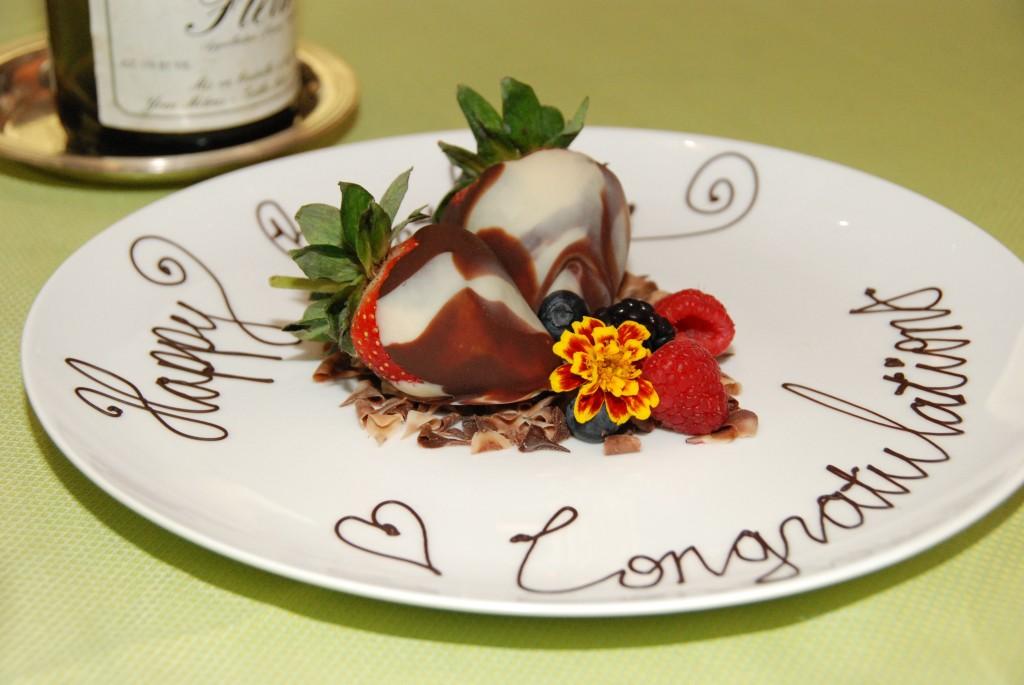 Angle - Strawberries & Chocolate