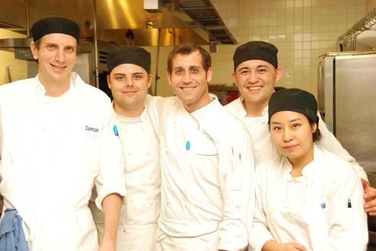 Chef Mattie and his Amazing team