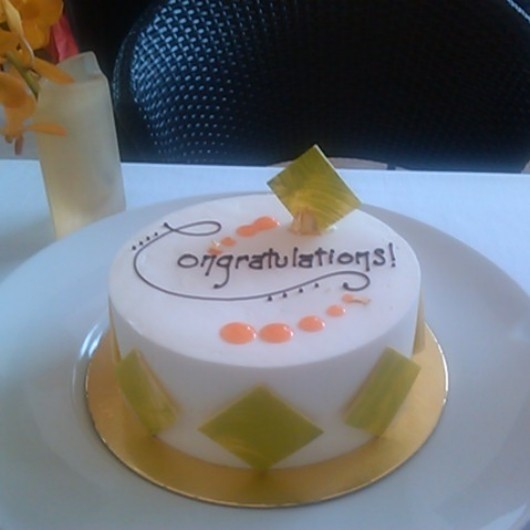 Café Boulud - Outstanding Carrot Cake with white chocolate