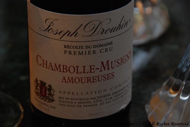 "2004 Joseph Drouhin 1er Cru Chambolle-Musigny ""Amoureuses"""