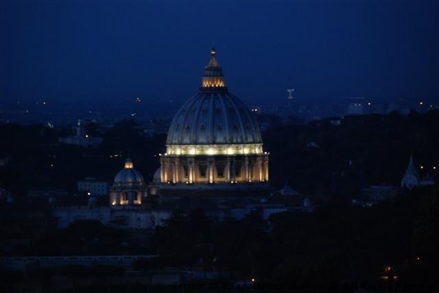 Cavalieri Balcony Evening View