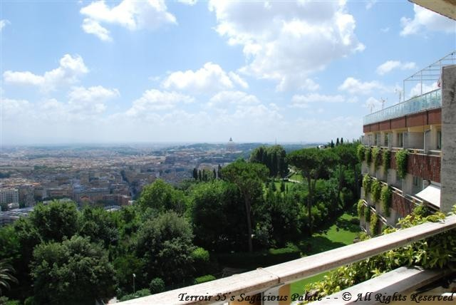 Balcony View of The Eternal City