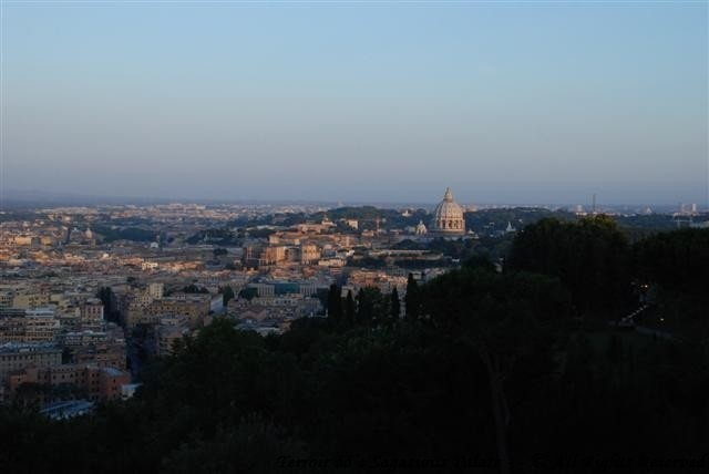 View of The Vatican from the balcony
