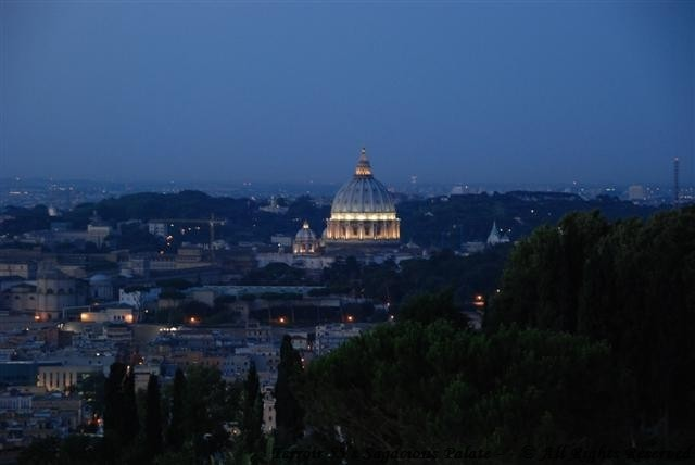 Balcony Evening View