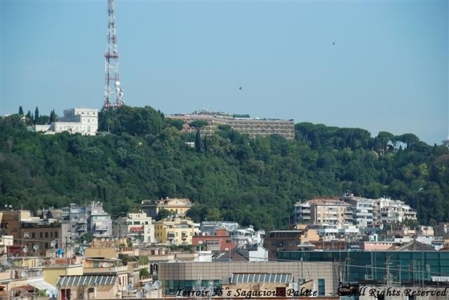 View of Cavalieri from Vatican City